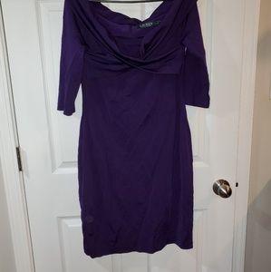 New Short purple dress